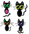 Funny kitten icons