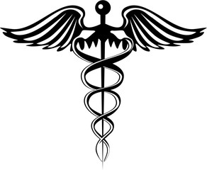 Caduceus Pharmacy Symbol