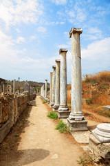 Ancient columns.