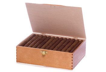 Box of cigars cutout