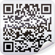 Sticker code-barres QR code