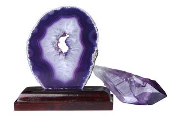 Mineral sample amethyst