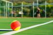 Leinwanddruck Bild - Tenis ball