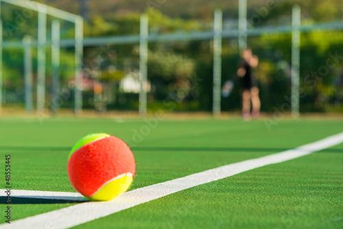Leinwanddruck Bild Tenis ball