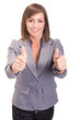 Thumbs up business women