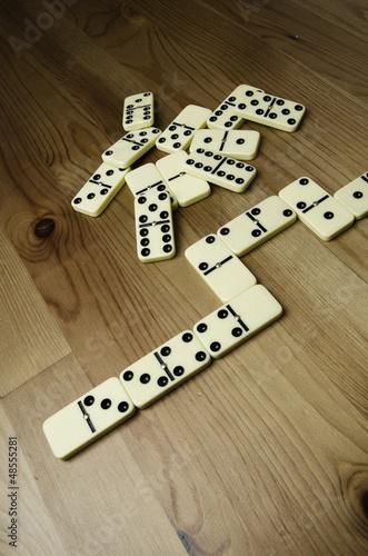 Domino pieces - 48555281