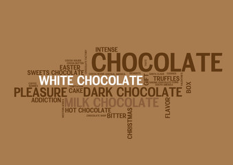 WEB ART DESIGN CHOCOLATE SQUARE BAR TASTE SWEET 200