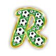 R -FOOTBALL  LETTER