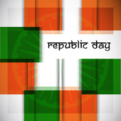 Republic Day background. EPS 10.