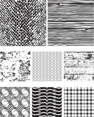 Seamless Vector Pattern Fills and Textures.