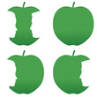 Green apple profile bites