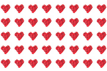 hearts background to valentine's day