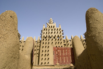 The Great Mosque of Djenne. Mali. Africa