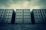 Cargo containers. - 48560430