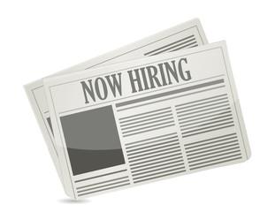 now hiring news