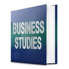 Business studies concept.