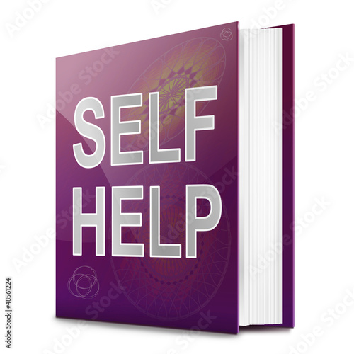Self help concept book.
