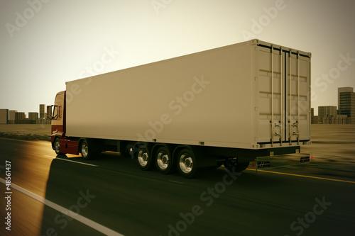 Fototapeten,lastkraftwagen,lieferung,freight,shipping