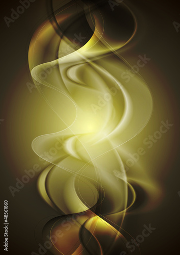 Colourful waves background