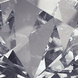 crystal facet background