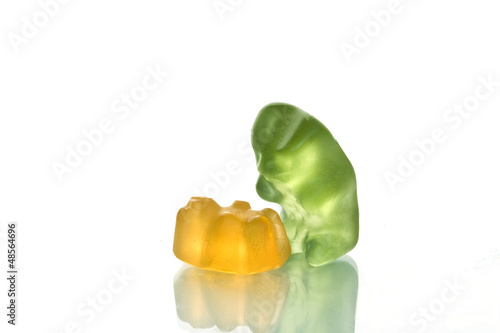 Gummy bear story 9 - becoming a single-parent