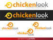 Company Logo Chicken Design,Vector