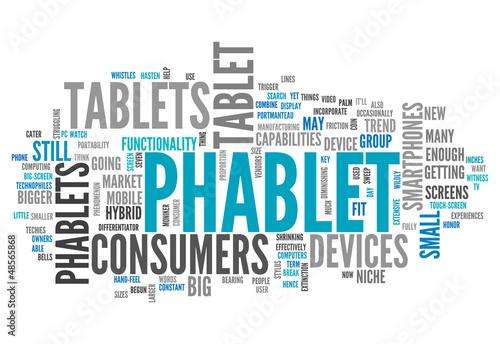 "Word Cloud ""Phablet"""