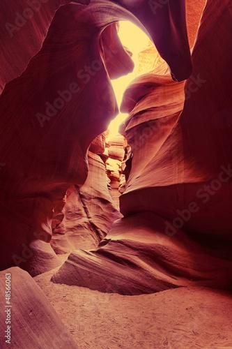 Antelope Canyon at sunset