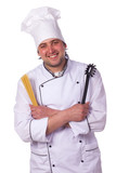 Portrait male chef