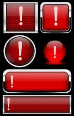 Kırmızı ünlem ikonu