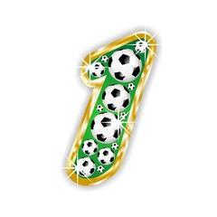 1 -FOOTBALL  NUMBER