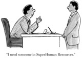 We value your work as super human