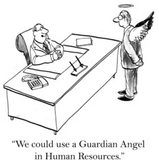 What corporation wouldn't like a guardian angel