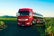 Tanklastzug für Gefahrentransporte