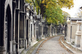 Pere Lachaise Cemetery Paris, France