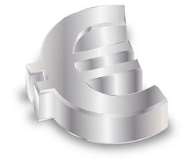 Vektor  Euro  Silber