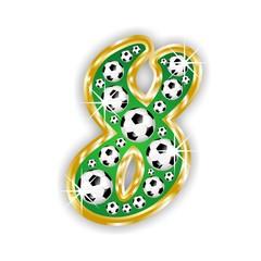 8 -FOOTBALL  NUMBER