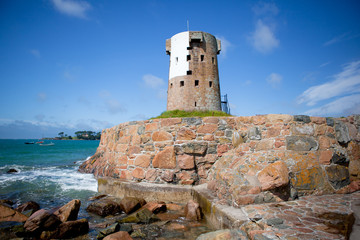 Le Hocq Martello Tower, Jersey, Channel Islands