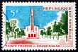Postage stamp Senegal 1964 St. Theresa's Church, Dakar