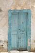 Blue old door