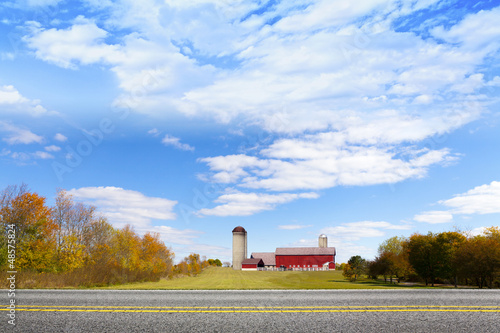 American Countryside Red Barn