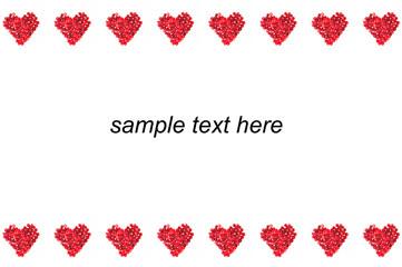 postcard to valentine's day