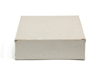 Paper box isolated