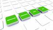 Pad Konzept Grün - Motivation Kreativität Ideen Ziele 1