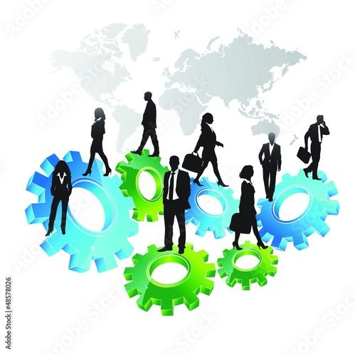 Business concept design-vector