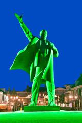 Lenin in Green Light