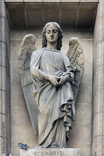 Archangel Gabriel, Madeleine church in Paris