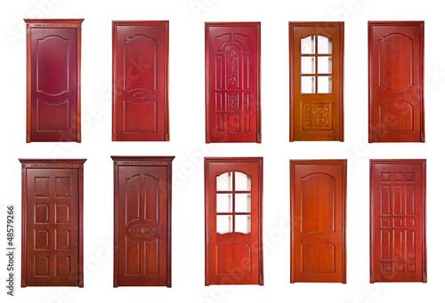 Wood door renderings