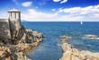 viewpoint in S'Agaro, Playa de Aro (Costa Brava), Catalonia, Spa