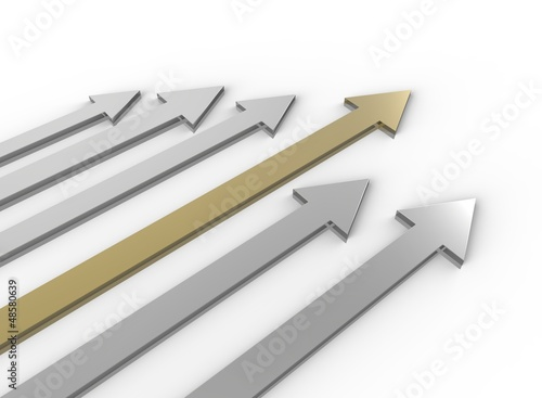 Silver and Gold Arrows